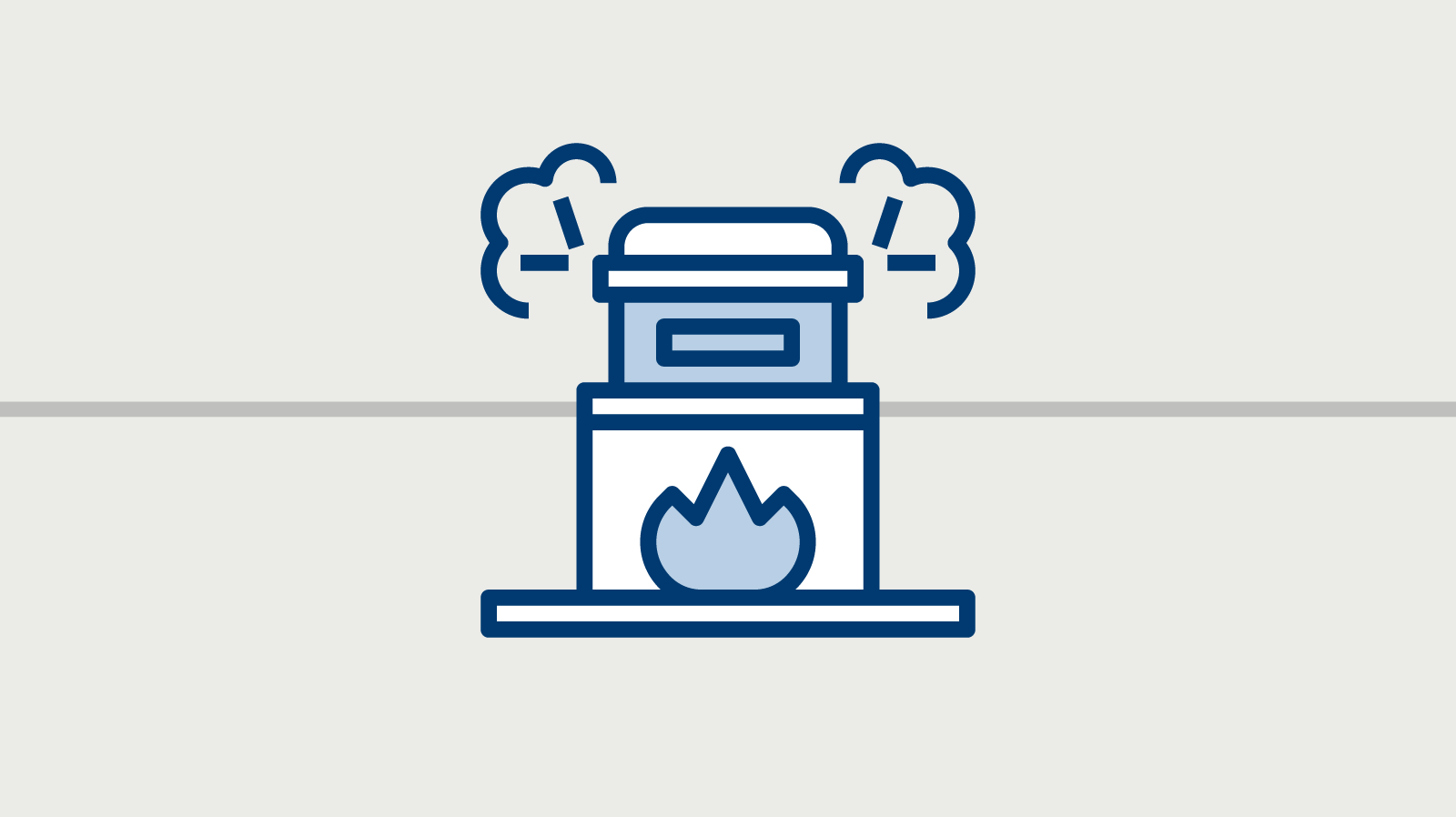 Ein Icon zeigt eine Einäscherungsanlage.